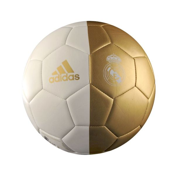 Bola-Adidas-Real-Madrid-Branco-Dourado
