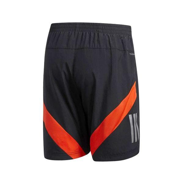 Short-Adidas-Own-the-Run-Preto-Laranja
