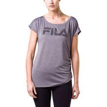 Camiseta-Fila-Drapped-Cinza-Feminino