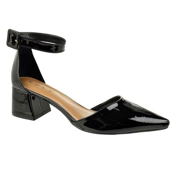 Sapato-Fivela-Bico-Fino-Kult-Modern-Preto-Feminino