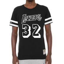 Camiseta-Mitchell-and-Ness-LA-Lakers-Black-White