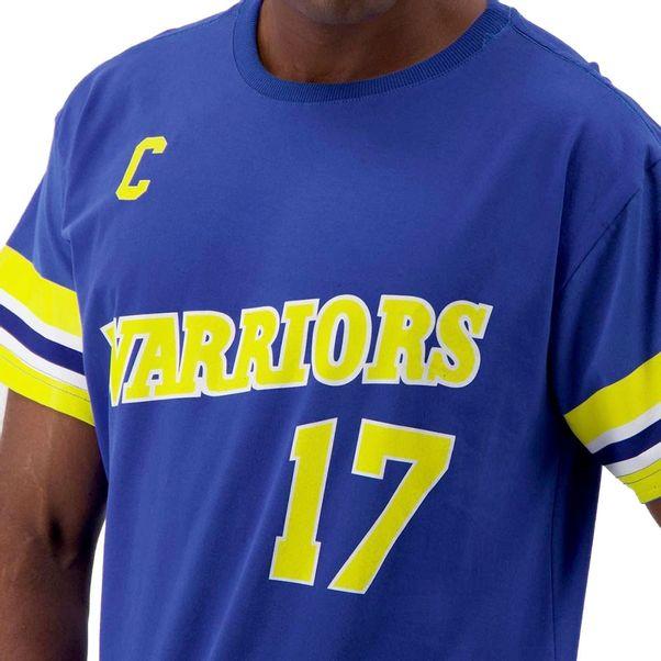 Camiseta-Mitchell-and-Ness-GS-Warriors-Blue-Yellow