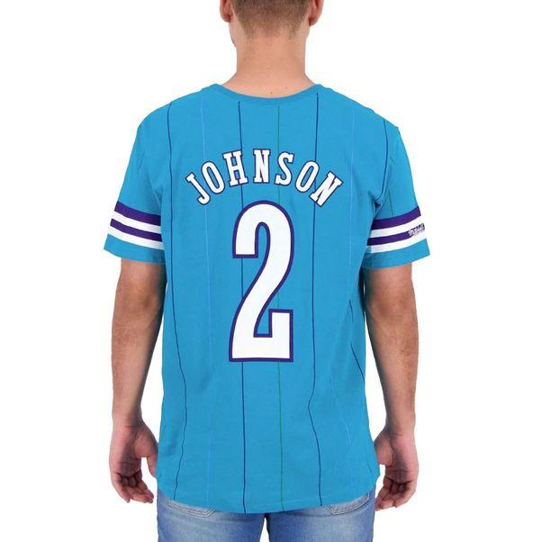 Camiseta-Mitchell-and-Ness-Charlotte-Hornets-Blue