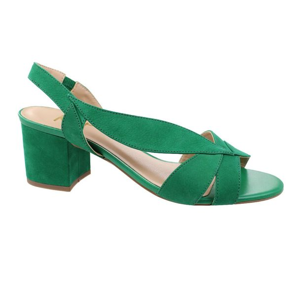 Sandalia-Salto-Baixo-Kult-Verde-Feminino-