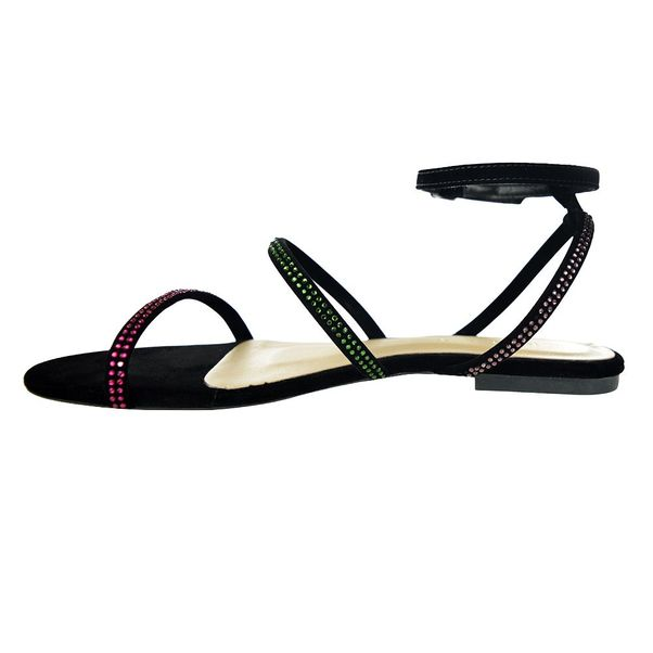 Sandalia-Rasteira-Kult-Hot-Fix-Black-Feminino