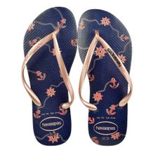 Chinelo-Slim-Havaianas-Nautical-Gold-Navy