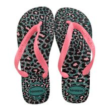 Chinelo-Havainas-Top-Animals-Rosa-Verde