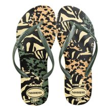 Chinelo-Slim-Havaianas-Animals-Verde-Bege-