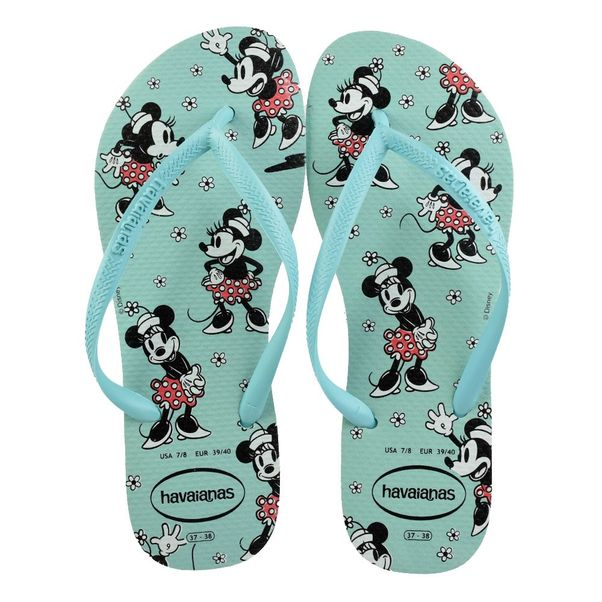 Chinelo-Slim-Havaianas-Disney-Verde-Feminino