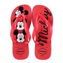 Chinelo-Havaianas-Top-Disney-Vermelho-Preto-