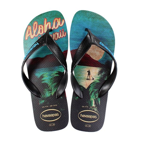 Chinelo-Havaianas-Surf-Preto-Azul-Masculino