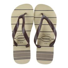 Chinelo-Havaianas-Top-Line-Marrom-Bege