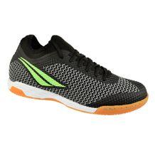 Tenis-Futsal-Penalty-Max-500-IX-Preto-Verde-Masculino