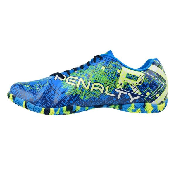 Tenis-Futsal-Penalty-RX-Virus-VIII-Azul-Branco