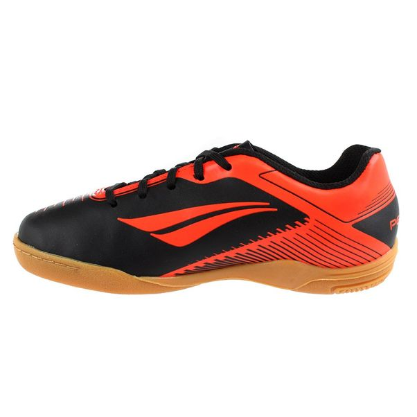 Tenis-Futsal-Infantil-Penalty-Era-VIII-Preto-Laranja