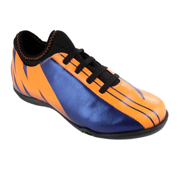 Tenis-Futsal-Infantil-Penalty-Attom-VIII-Orange-Navy