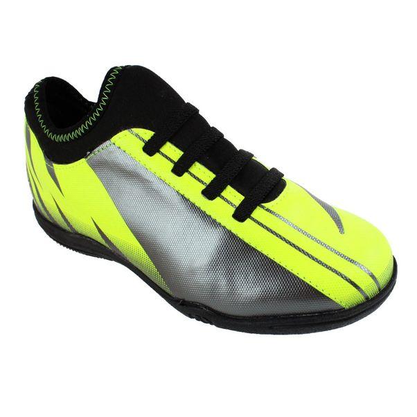 Tenis-Futsal-Infantil-Penalty-Attom-VIII-Yellow-Silver