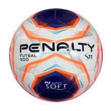 Bola-de-Futsal-S11-R2-X-Branco-Laranja