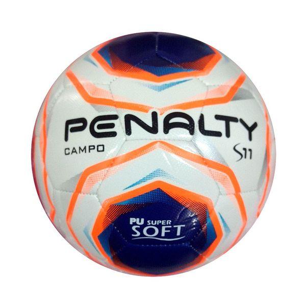 Bola-de-Campo-Penalty-S11-R2-X-Branco-Laranja