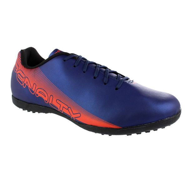 Chuteira-Society-Penalty-Bravo-XX-Navy-Orange