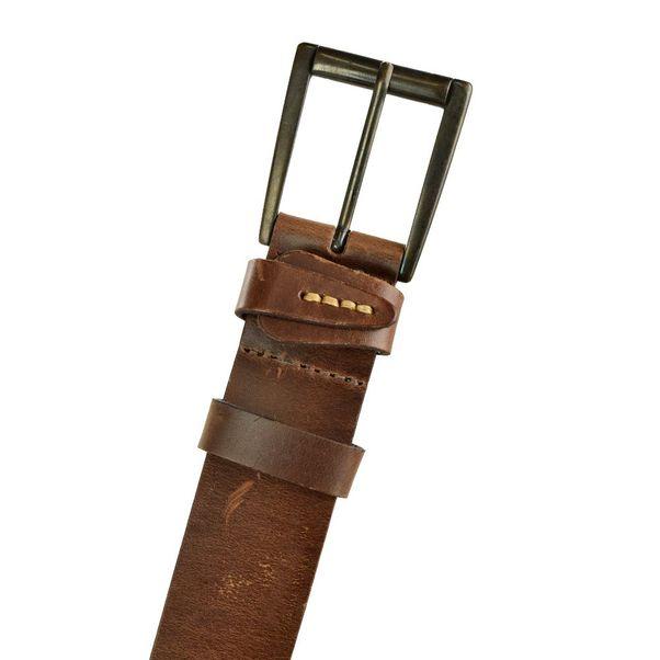Cinto-Fasolo-Leather-Marrom-Masculino