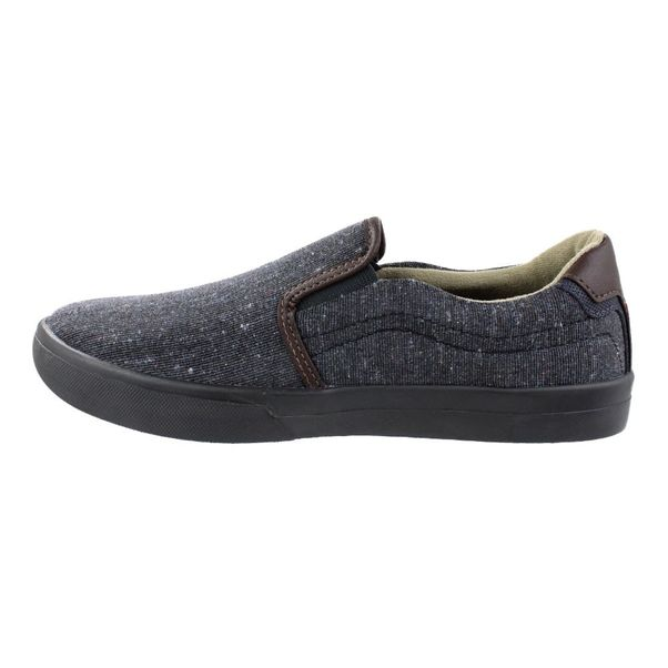 Slip-On-Constantino-Combined-Preto-Marrom