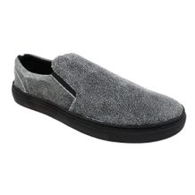 Slip-On-Constantino-Crackled-Cinza-Preto
