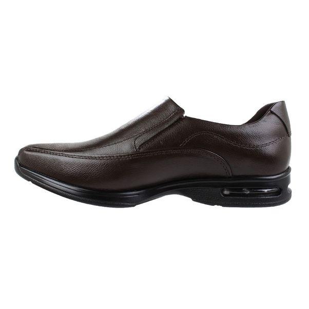 Sapato-Casual-Democrata-Air-Stretch-Brown