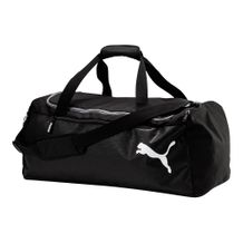 Mala-Puma-Medium-Training-Preto-Branco-Unissex