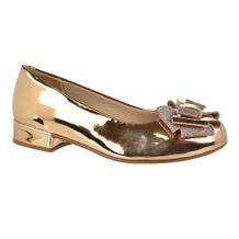 Sapato-Menina-Molekinha-Laco-Dourado