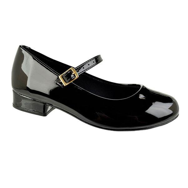 Sapato-Boneca-Menina-Molekinha-Verniz-Preto