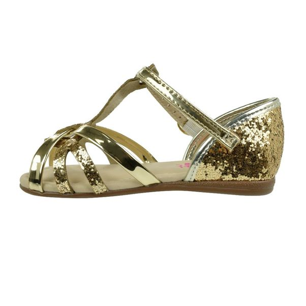 Sandalia-Menina-Molekinha-Shine-Dourado