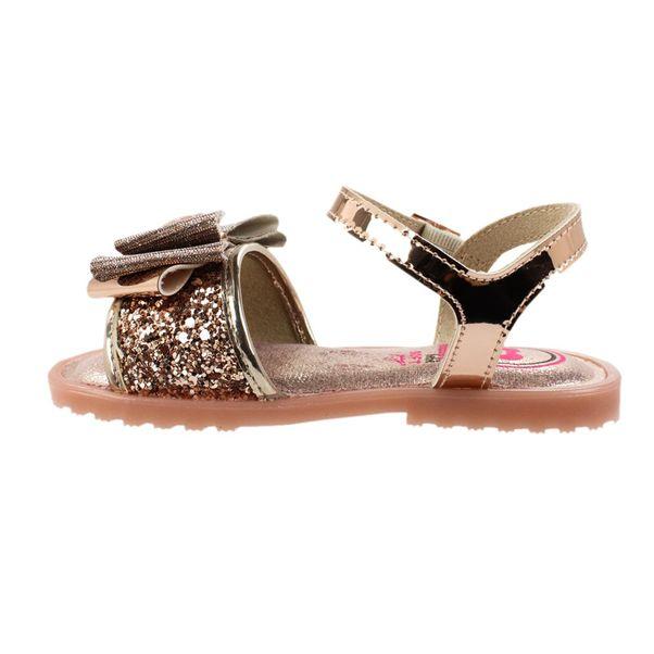 Sandalia-Menina-Molekinha-Glamour-Glitter-Gold