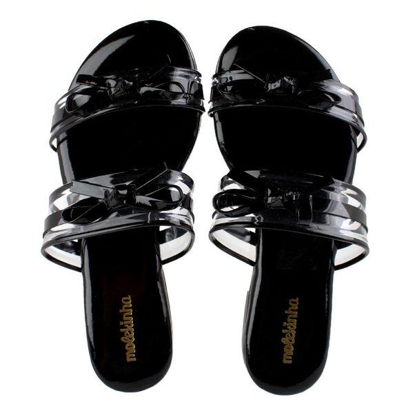 Tamanco-Infantil-Molekinha-Premium-Varnish-Black