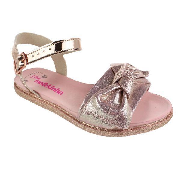 Sandalia-Infantil-Molekinha-Metal-Glitter-Gold