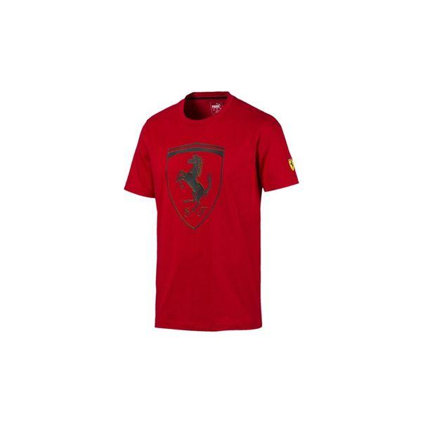 Camiseta-Puma-Ferrari-Vermelho-Preto-Masculino