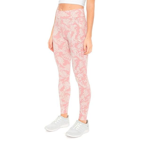 Legging-Puma-Elevated-Ess-Rosa-Branco