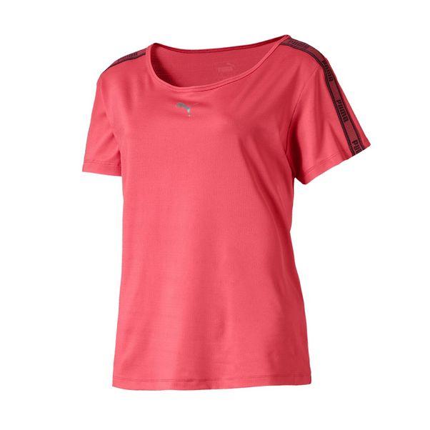 Camiseta-Puma-Soft-Sports-Rosa-Preto