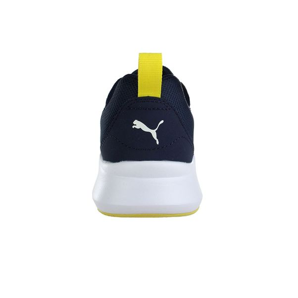 Tenis-Infantil-Puma-Wired-JR-Marinho-Amarelo-