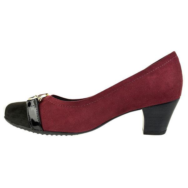 Scarpin-Piccadilly-Comfort-Vinho-Preto-Feminino