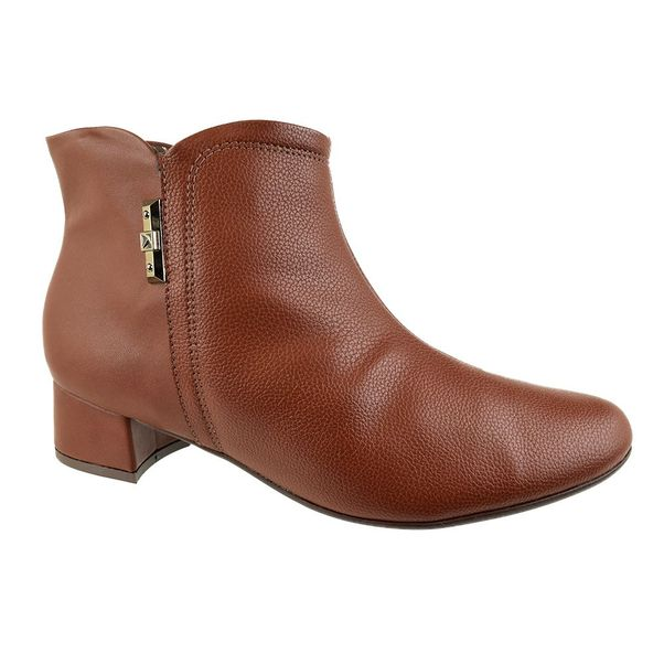 Ankle-Boot-Piccadilly-Lined-Marrom-Feminino