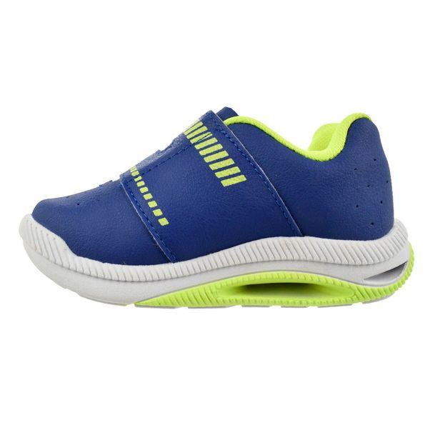 Tenis-Menino-Kidy-Hoox-Baby-Azul-Verde