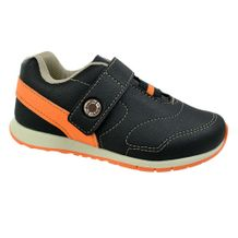 Tenis-Menino-Kidy-Free-Freedom-Black-Orange