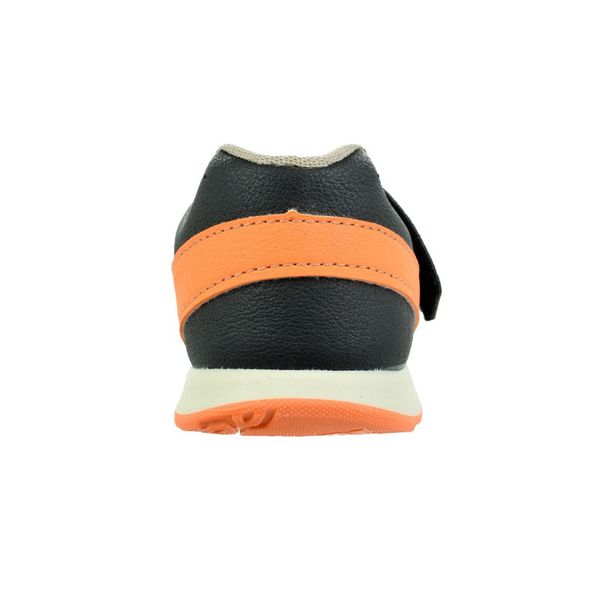 Tenis-Menino-Kidy-Free-Freedom-Black-Orange