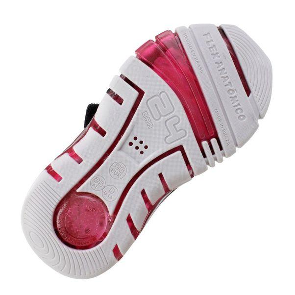 Tenis-Menino-Kidy-Flex-Light-Preto-Vermelho