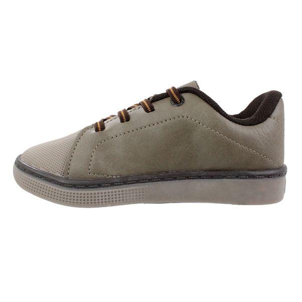 Tenis-Menino-Kidy-Shoelace-Marrom