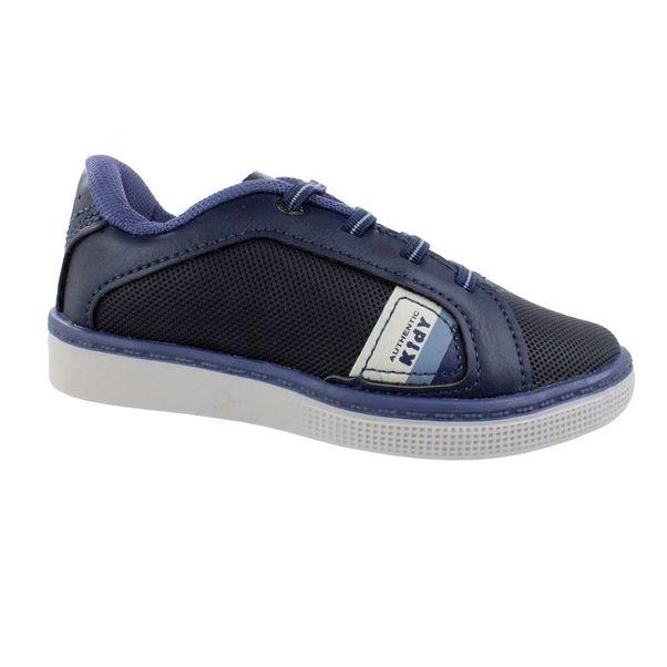 Tenis-Menino-Kidy-Shoelace-Marinho
