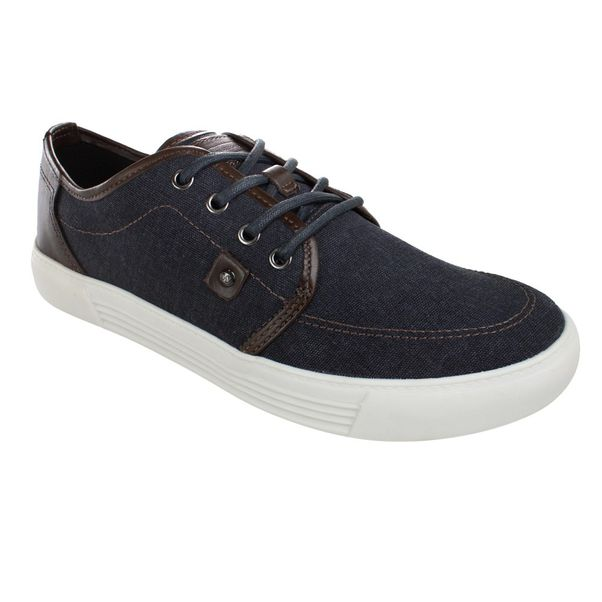Sapatenis-West-Coast-Ravello-Canvas-Navy-Brown