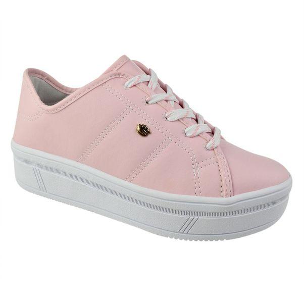 Tenis-Casual-Flatform-Menina-Pink-Cats-Legacy-Rosa