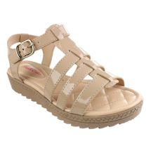 Sandalia-Infantil-Pink-Cats-Strips-Bege-